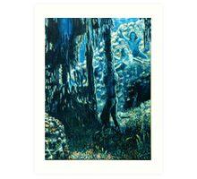 Couleur Marine Art Print