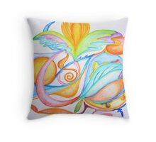 JUSTICE LOVE FREEDOM Throw Pillow