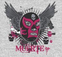 Luchadore de la Muerte by drawingmonkey