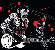 Monkeys Rock! by drawingmonkey
