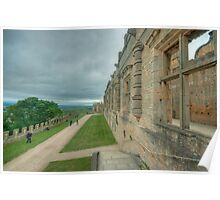 The Terrace at Bolsover Castle Poster