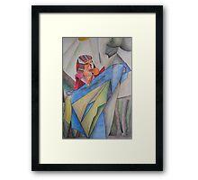 One Figure Framed Print
