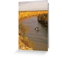 River murray  Greeting Card