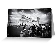 ABOUT PISA Greeting Card