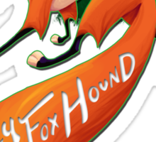 The SlyFoxHound Sticker