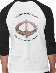 Infantry Combat Badge Men's Baseball ¾ T-Shirt