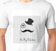 hat valentine Unisex T-Shirt