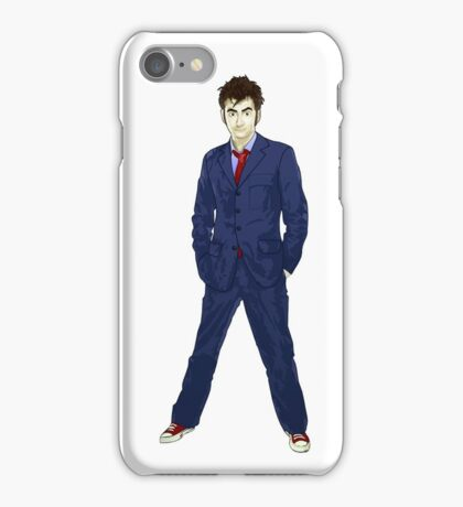 The 10th Doctor - David Tennant iPhone Case/Skin
