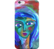 Green Face iPhone Case/Skin