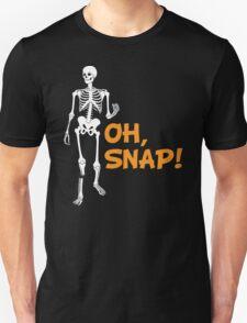 Oh, Snap! Funny Broken Leg Skeleton T-Shirt