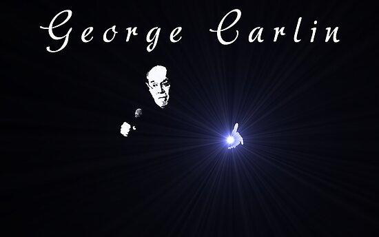 George Carlin by Omar Dakhane