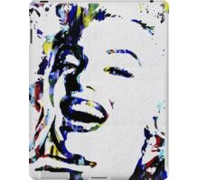 Monroe Celebrity Hollywood Abstract Painting iPad Case/Skin