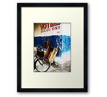 Base Camp Hotel, Mt. Everest Framed Print