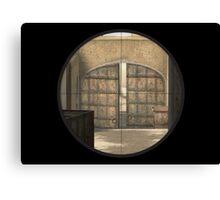 CSGO Dust 2 - Mid Doors Canvas Print
