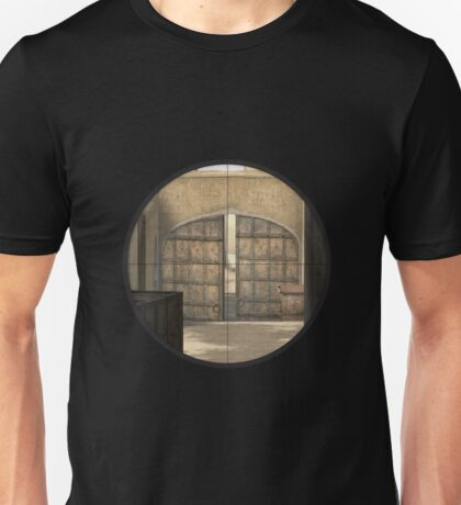 CSGO Dust 2 - Mid Doors Unisex T-Shirt