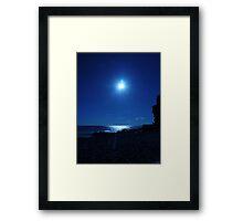 Sky Blue Framed Print