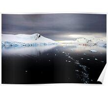 Antarctic Dawn, Paradise Bay Poster