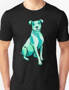 Pit Bulls in Sea Foam Splash T-Shirt