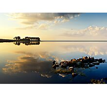 Smiddy Shaw Reservoir Photographic Print