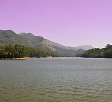 Mattupetty Lake, Munnar by Dhruba Tamuli