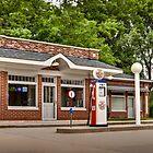 1933 Prairie Style Service Station & Cafe by Zunazet