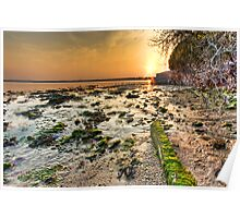 Holes Bay Sunset (3) Poster