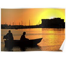Poole Sunset (1) Poster