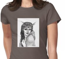 One with the Goddess ~ By Torrie Nightingale Womens Fitted T-Shirt