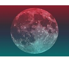 """""""American Werewolf on the Moon"""" Optical Illusion Photographic Print"""