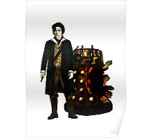The War Doctor and Dalek Poster