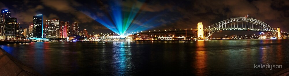 Vivid Sydney - Annual light show in Darling Harbor by kaledyson