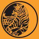 Tiger Tattoo - Black by taiche