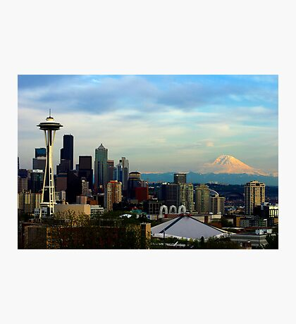 Sunset from Kerry Park Photographic Print