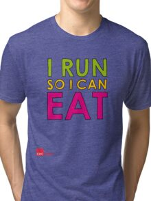 I Run So I Can Eat Tri-blend T-Shirt