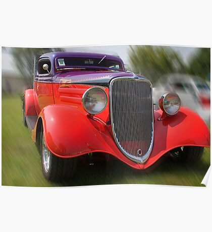 1933 Ford Coupe Poster