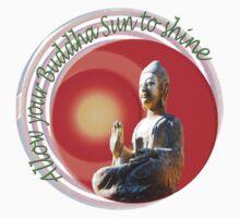 Buddha Sun Baby Tee