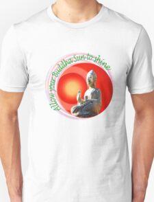 Buddha Sun Unisex T-Shirt
