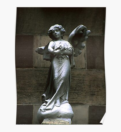 Angel - Hoboken, NJ Poster