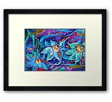 Magic of midnight Framed Print