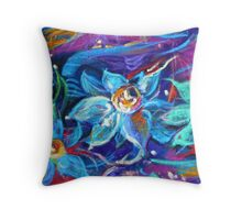 Magic of midnight Throw Pillow