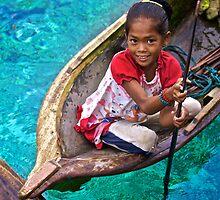 Bajau Laut Girl # 2 by Rasfan  Abu Kassim