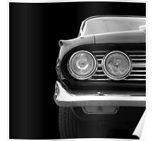 Classic Car (black&white) Poster