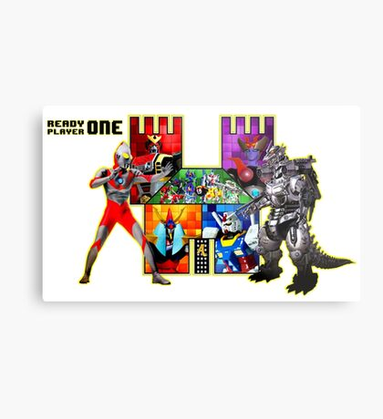 Welcome to Castle Anorak 2 - Ready Player One Metal Print