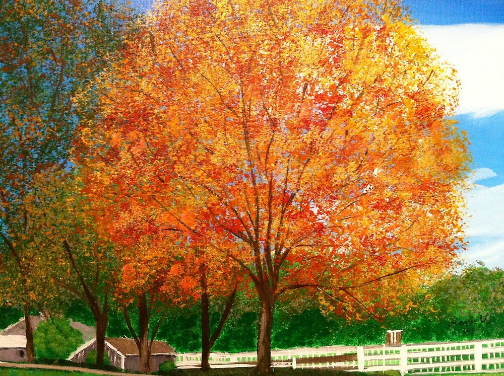 Sweet sugar Maple/painted by maggie326