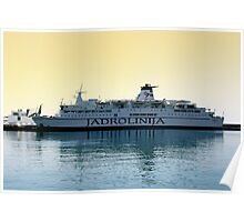 Marko Polo ship, Croatia Poster