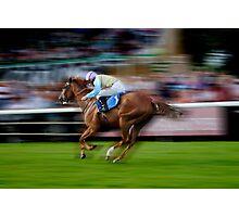 'Run Like The Wind, BULLSEYE!' Photographic Print