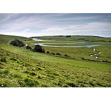 Winding River Photographic Print