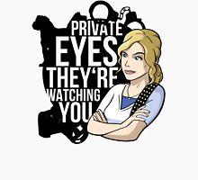 Private Eyes Men's Baseball ¾ T-Shirt