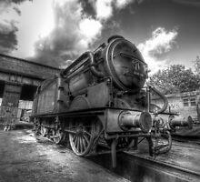 GNR 1744 Class N2 (B&W) by Yhun Suarez