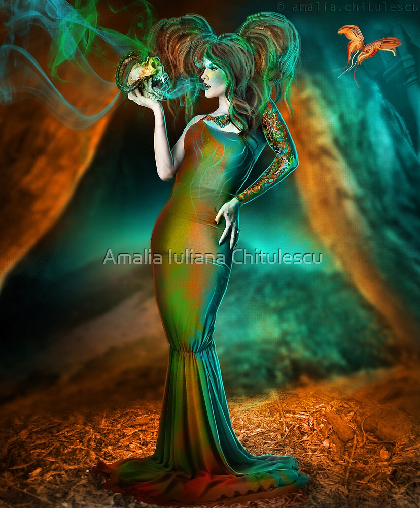 Poisons the very soul of me by Amalia Iuliana Chitulescu